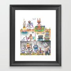 Estos Cabrones Framed Art Print