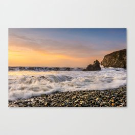 Copper Coast Sunrise 1 Canvas Print