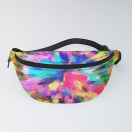 color explosion gogh pattern gostd Fanny Pack