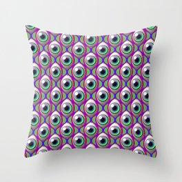 Eye pattern 01 Throw Pillow