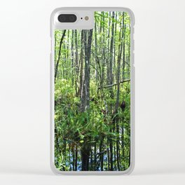 When the Cypress Whispers Clear iPhone Case