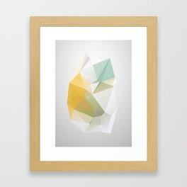 YELLOWHEART Framed Art Print
