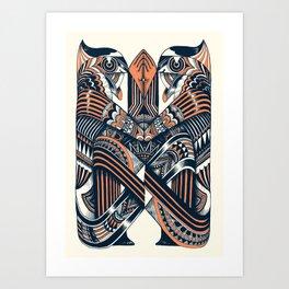 Worshipers  Art Print