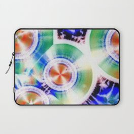 Happy Vitamin C Crystals in Sunlight Laptop Sleeve