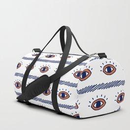 Bohemian Eye Pattern Duffle Bag