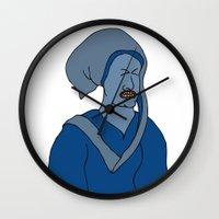 headdress Wall Clocks featuring Headdress by Addison Karl