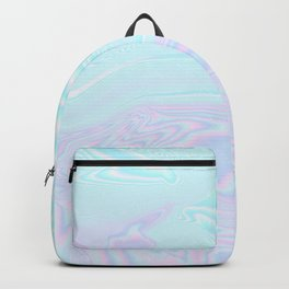 Blue Purple Holographic Backpack