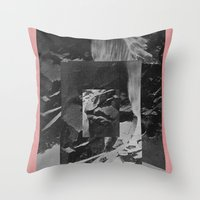 stone Throw Pillows featuring Stone by Thrashin