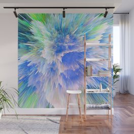 """Unbreakable Spirit"" Abstract Design Wall Mural"