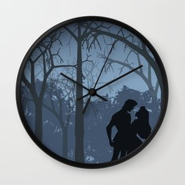 I walked with you once upon a dream (Sleeping Beauty) Wall Clock