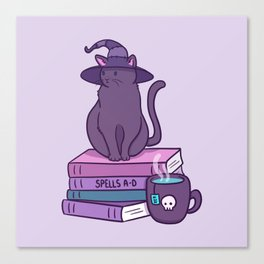 Feline Familiar Canvas Print