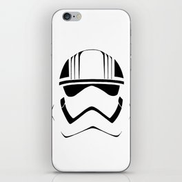 CAPTAIN PHASMA HELMET iPhone Skin