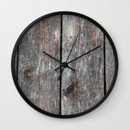 Wood 2 Wall Clock