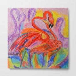 Flamingo # 2 Metal Print