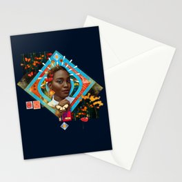 Thrive :: Fine Art Collage Stationery Cards