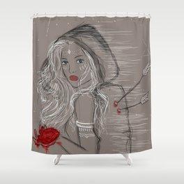 Heartbreaker Shower Curtain