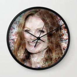 JULIANNE MOORE Wall Clock