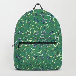 Bright Star Field Texture Backpack