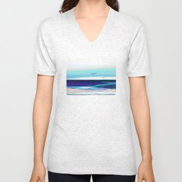 ocean touch no.4a Unisex V-Neck