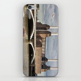 Battersea Power Station with Pink Floyd Pig iPhone Skin