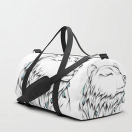 Poetic Bear Duffle Bag