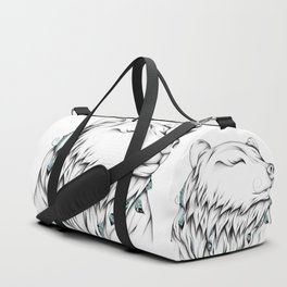 Poetic Bear Duffle Bag