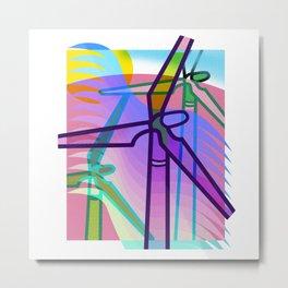 The Wind Mills Metal Print