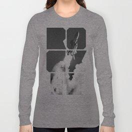 ROCKIT (Black on White) Long Sleeve T-shirt