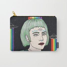 Alien Girl Carry-All Pouch