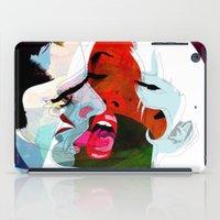 kiss iPad Cases featuring Kiss by Alvaro Tapia Hidalgo