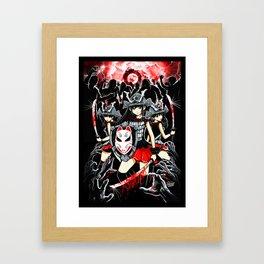I Love Haters Framed Art Print
