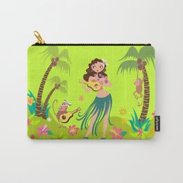 Hula Honey Carry-All Pouch