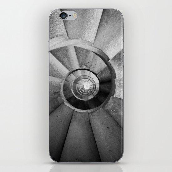La Sagrada Familia Spiral Staircase iPhone & iPod Skin