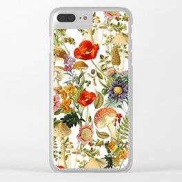 Mushroom Dreams 2 Clear iPhone Case