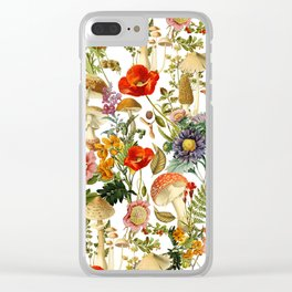 Mushroom Dreams 2 Clear iPhone Case