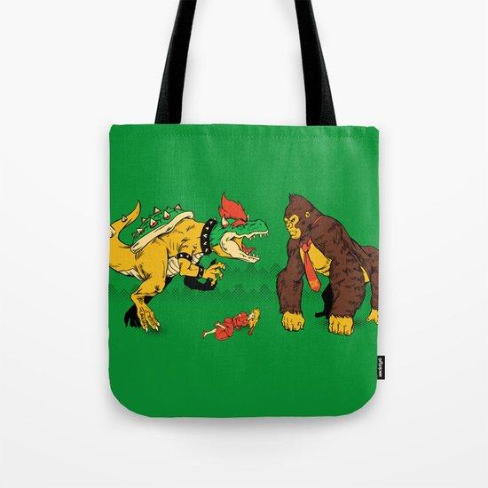 Boss vs Kong Tote Bag