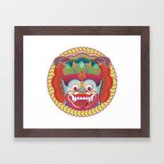 Bali Monster 1 Framed Art Print