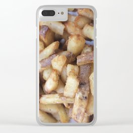Five Guys Fries Clear iPhone Case