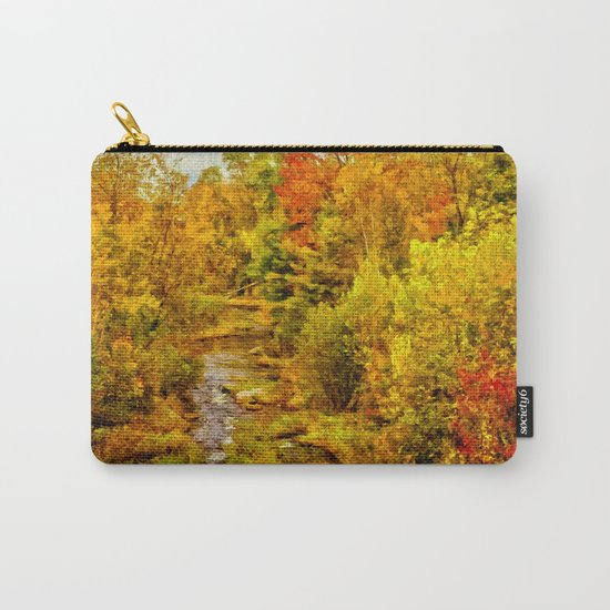 Autumn On The Ammonoosuc Carry-All Pouch