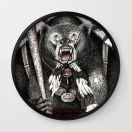 Inglourious Basterds (Quentin Tarantino) The Bear Jew Wall Clock