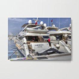 Sunseeker 78 Yacht Metal Print