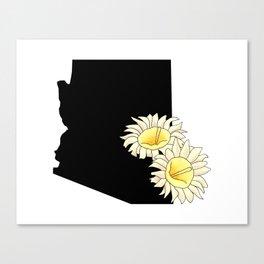 Arizona Silhouette Canvas Print
