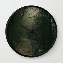 Forest dwarf Wall Clock