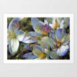Fées sylvestres Art Print