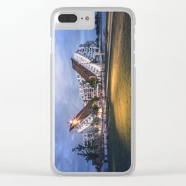 8 House Clear iPhone Case