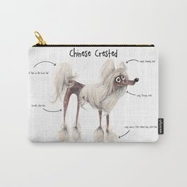 C is for Chinese Crested Carry-All Pouch
