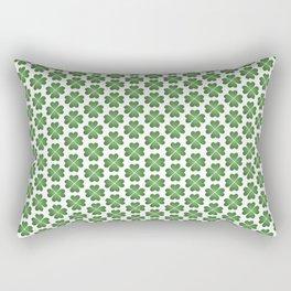 Hearts Clover Pattern Rectangular Pillow