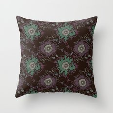 Branches pattern Throw Pillow