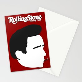 Johnny Cash, Minimalist Rolling Stone Magazine Cover Stationery Cards