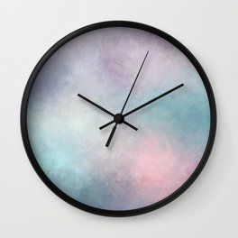 Dreaming in Pastels Wall Clock